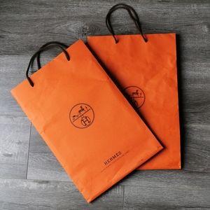 Hermes Paper Shopping Bags
